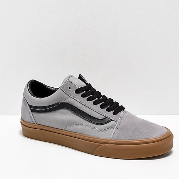 6005474e59 Vans Old Skool Gum Outsole Alloy Black